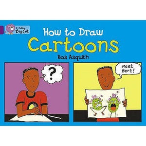 COLLINS BIG CAT-HOW TO DRAW PURPLE 8 - Kool Skool The Bookstore