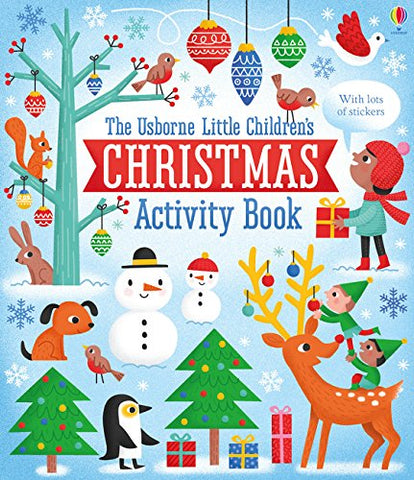 Little Children's Christmas Activity Book - Paperback