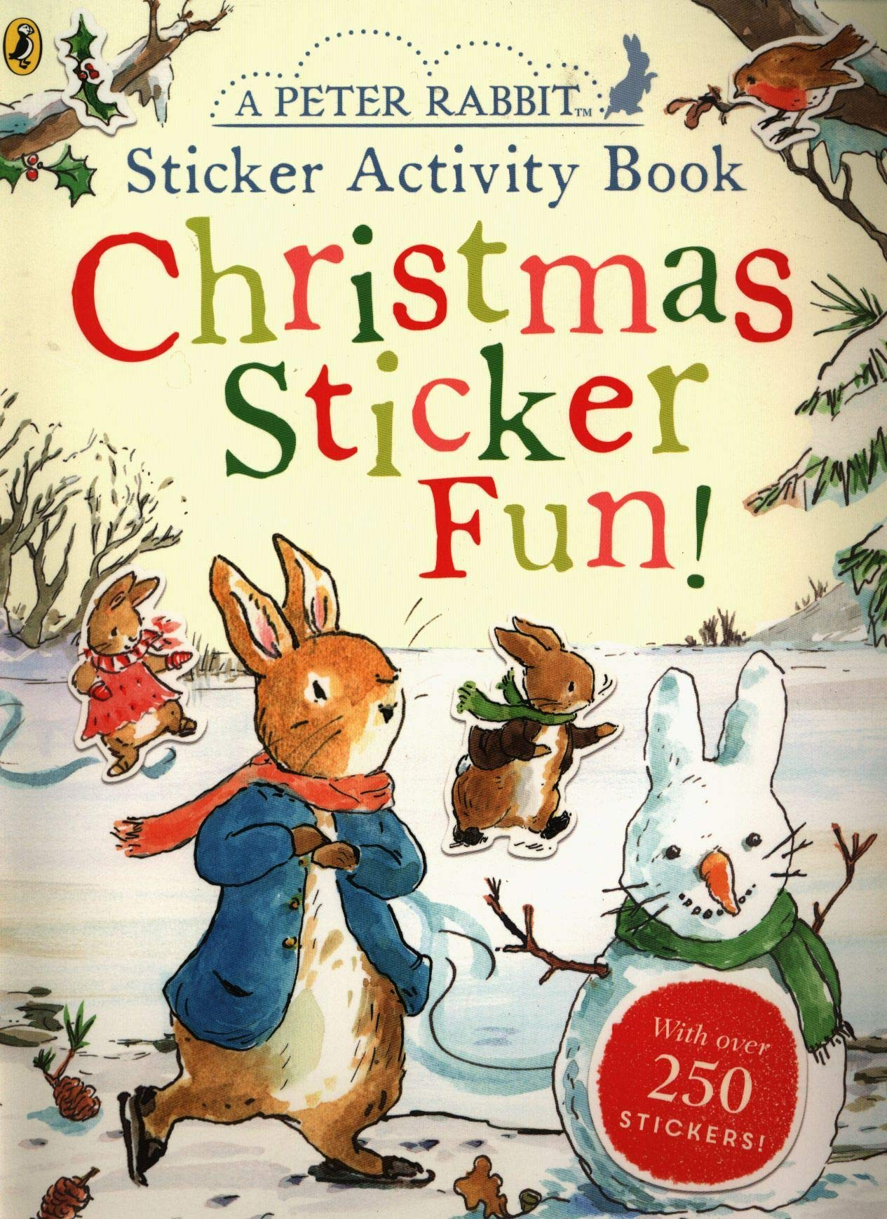 Peter Rabbit Christmas Fun Sticker Activity Book  - Paperbook