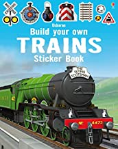 Build Your Own Trains Sticker Book - Kool Skool The Bookstore