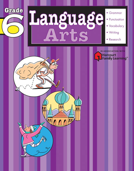 Language Arts: Grade 6 - Paperback