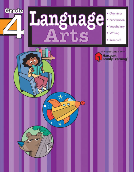 Language Arts: Grade #4 - Paperback