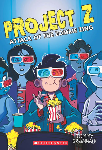 Project Z : The Attack of the Zombie Zing - Paperback
