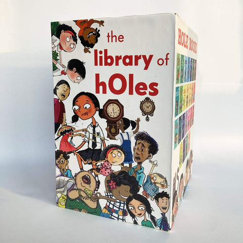 The Library of hOles: Buy the first ever box set with all 25 hOle books! - Paperback