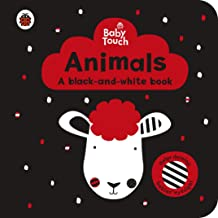 Baby Touch: Animal a black-and-white book - Kool Skool The Bookstore