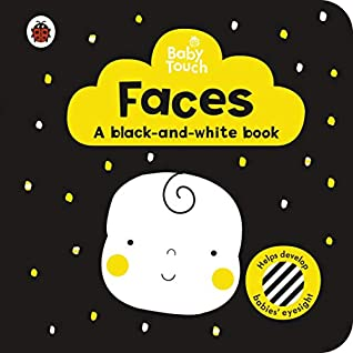 Baby Touch: Faces: a black-and white-book - Kool Skool The Bookstore