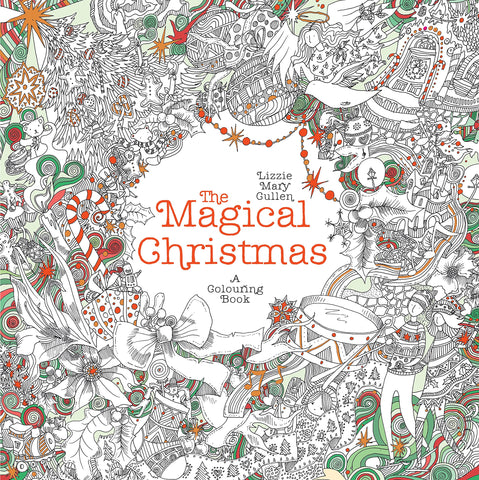 The Magical Christmas A Colouring Book - Paperback