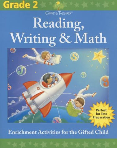Gifted & Talented: Grade 2 Reading, Writing & Math - Paperback