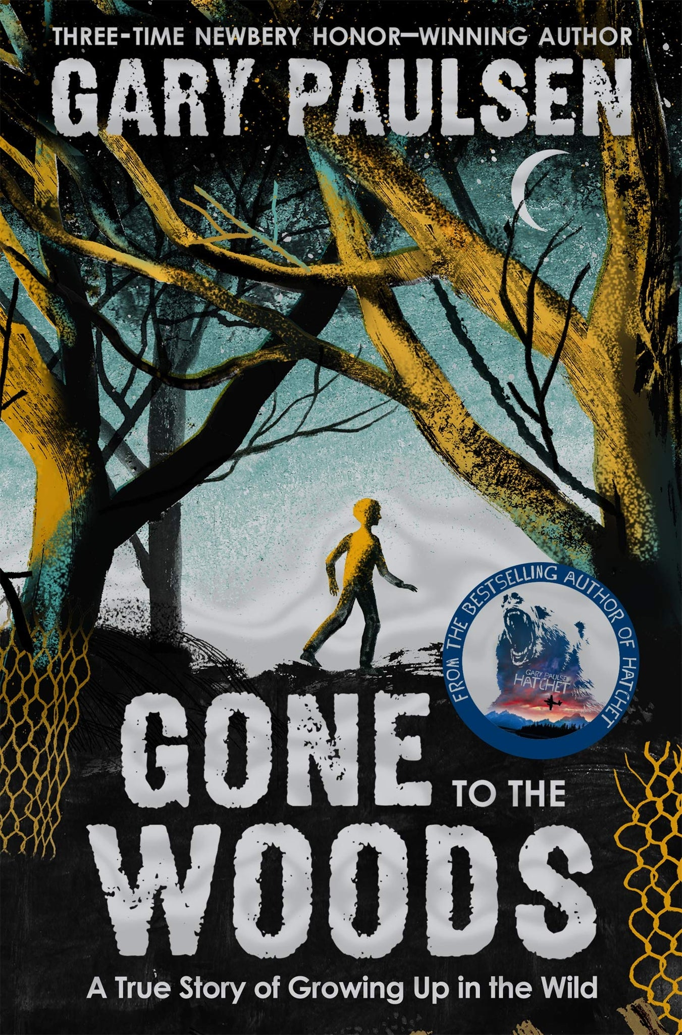 Gone to the Woods: A True Story of Growing Up in the Wild - Paperback