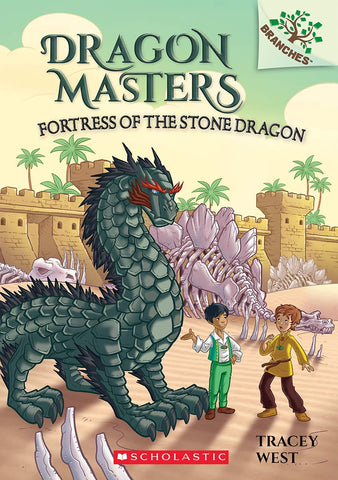 Dragon Masters #17: Fortress of the Stone Dragon - Paperback