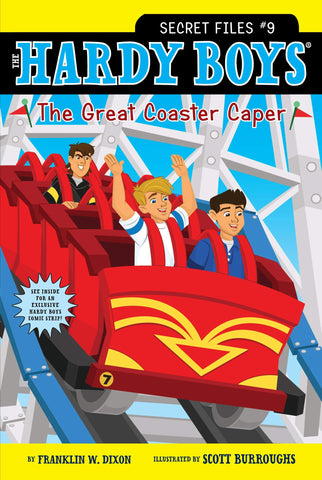 The Hardy Boys: Secret Files #9 : The Great Coaster Caper - Paperback
