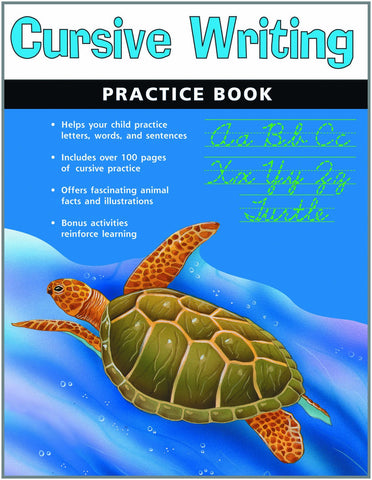 Cursive Writing Practice Book - Paperback