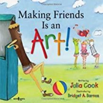 Making Friends Is an Art (Building Relationships series) - Kool Skool The Bookstore