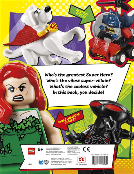 LEGO Batman Sticker Super Heroes and Super-Villains - Paperback