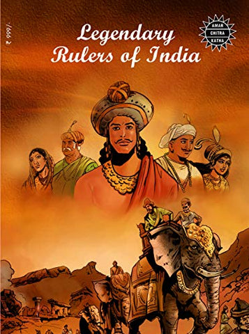 Legendary Rulers of India (15 in 1): Special Issue (Amar Chitra Katha) - Paperback
