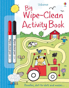 Big Wipe Clean Activity Book (Wipe-clean Books) - Paperback