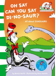 Dr Seuss : The Cat In The Hat's Learning Library : Oh Say Can You Say Di-no-saur? - Paperback - Kool Skool The Bookstore
