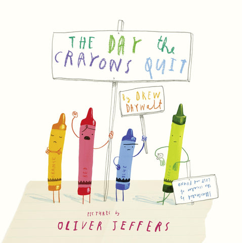 The Day The Crayons Quit - Paperback