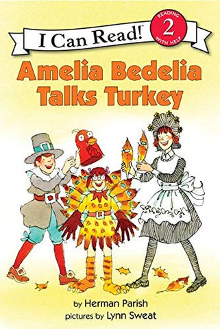 I Can Read Level 2 : Amelia Bedelia Talks Turkey - Paperback