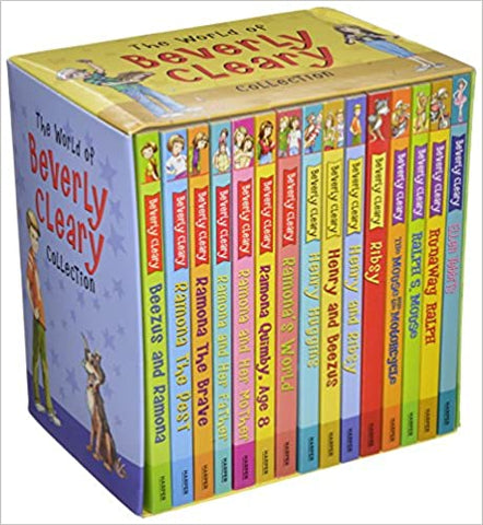 The World of Beverly Cleary Collection (Set of 15 Books) - Paperback - Kool Skool The Bookstore