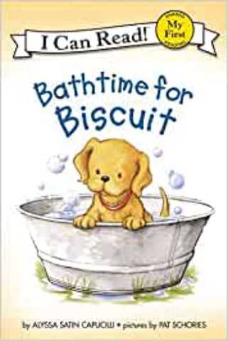 My First I Can Read : Bathtime for Biscuit - Paperback