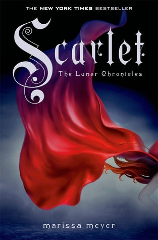 The Lunar Chronicles #2 : Scarlet - Paperback