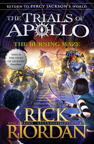 The Trials of Apollo #3 : The Burning Maze - Paperback