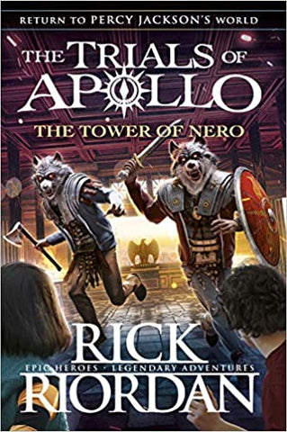 The Trials of Apollo #5 : The Tower of Nero - Paperback