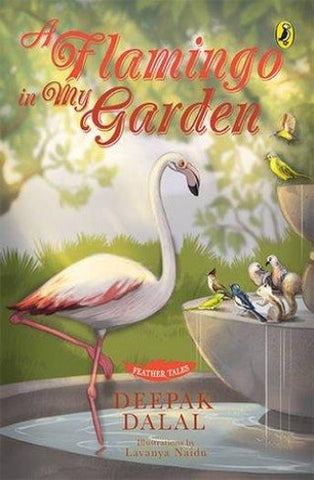 Feather Tales: A Flamingo in My Garden - Author Signed Copy - Kool Skool The Bookstore