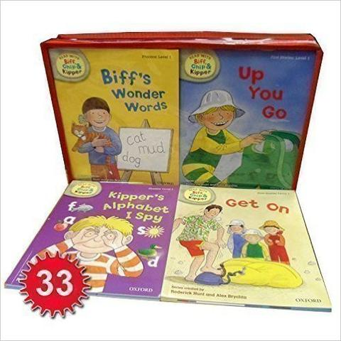 Phonics and First Stories Collection - Read With Biff, Chip And Kipper Levels 1 2 3 - Box Set - Paperback - Kool Skool The Bookstore