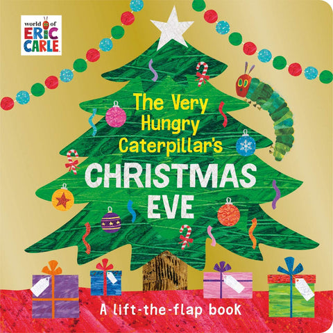 The Very Hungry Caterpillar's Christmas - Board Book