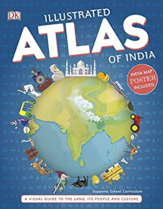 DK : Illustrated Atlas of India - Paperback - Kool Skool The Bookstore