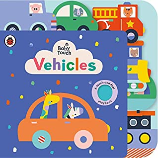 BABY TOUCH : VEHICLES TAB BOOK - Kool Skool The Bookstore
