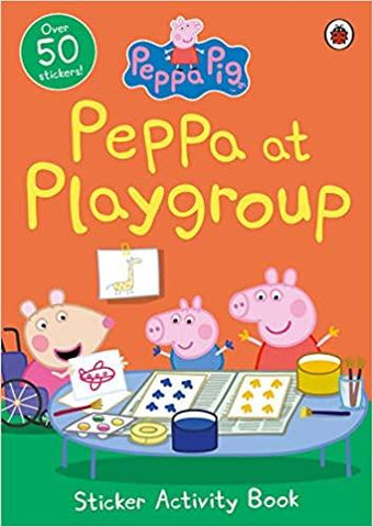 Peppa Pig: Peppa at Playgroup Sticker Book - Paperback - Kool Skool The Bookstore