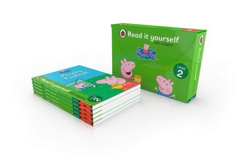 Peppa Pig RIY Level 2 Tuck Box - Hardback - Kool Skool The Bookstore