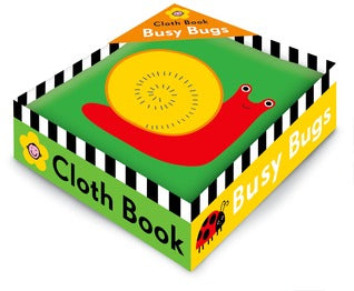 Busy Bugs Cloth Book - Kool Skool The Bookstore