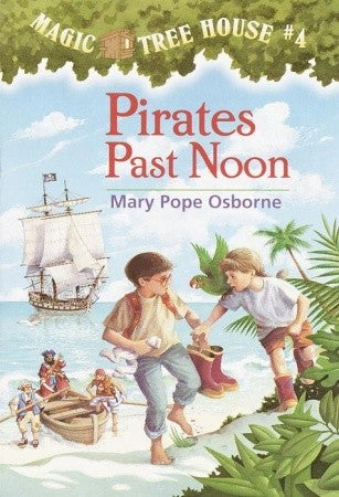 Magic Tree House #4 : Pirates Past Noon - Paperback - Kool Skool The Bookstore