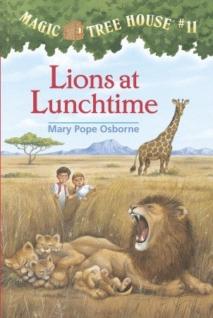 Magic Tree House #11 : Lions at Lunchtime - Kool Skool The Bookstore