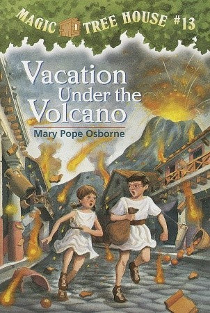 Magic Tree House #13 : Vacation Under the Volcano - Kool Skool The Bookstore