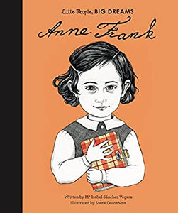 Little People Big Dreams : Anne Frank - Paperback - Kool Skool The Bookstore