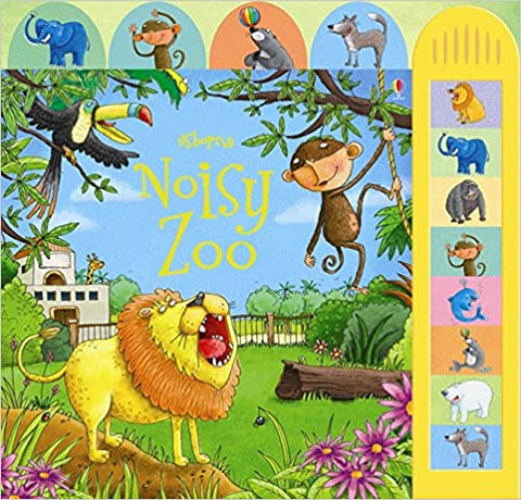 Usborne Noisy Zoo Sound Book - Hardback