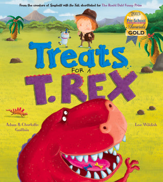 TREATS FOR A T REX - Kool Skool The Bookstore