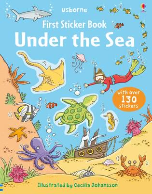 Usborne First Sticker Book Under The Sea - Paperback