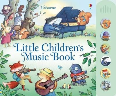 Usborne Little Children's Music Book - Hardback