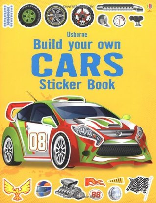 Build Your Own Car Sticker Book - Paperback