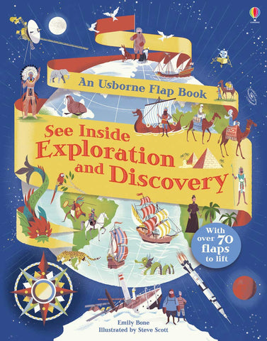 Usborne See Inside Exploration and Discovery - Kool Skool The Bookstore