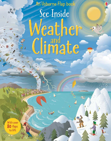 Usborne See Inside Weather & Climate - Kool Skool The Bookstore