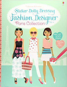 Sticker Dolly dressing Fashion Designer Paris Collection - Kool Skool The Bookstore