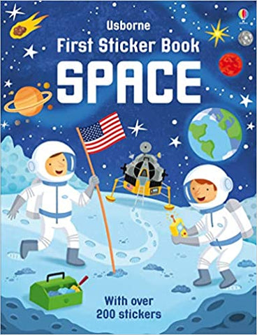 First Sticker Book Space - Paperback