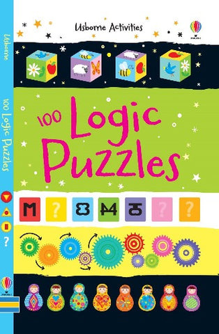 Usborne 100 Logic Puzzles - Kool Skool The Bookstore